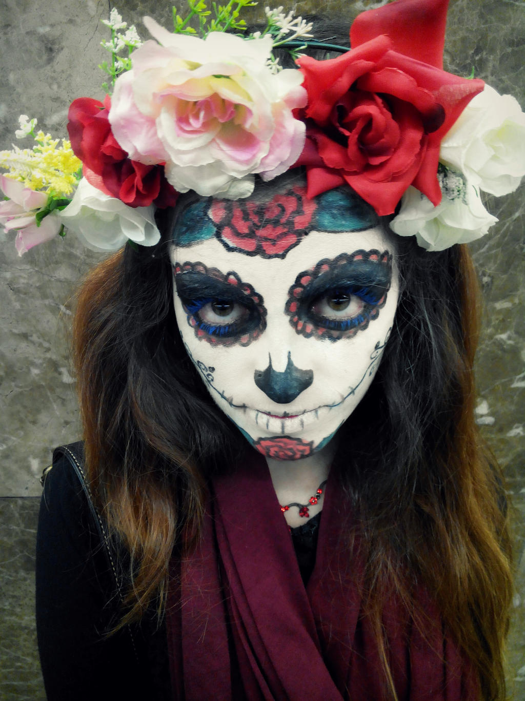 Mexican Skull by kokoammm Mexican Skull by kokoammm : mexican skeleton costume  - Germanpascual.Com