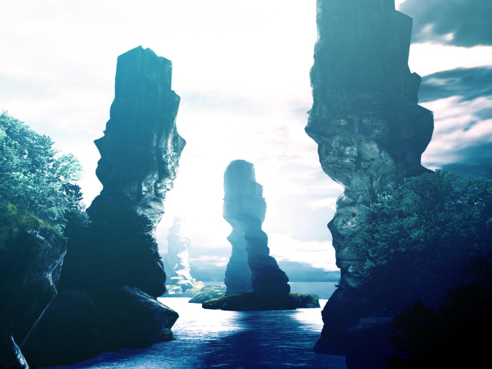 Mystic Peaks by uncubitodehielo88