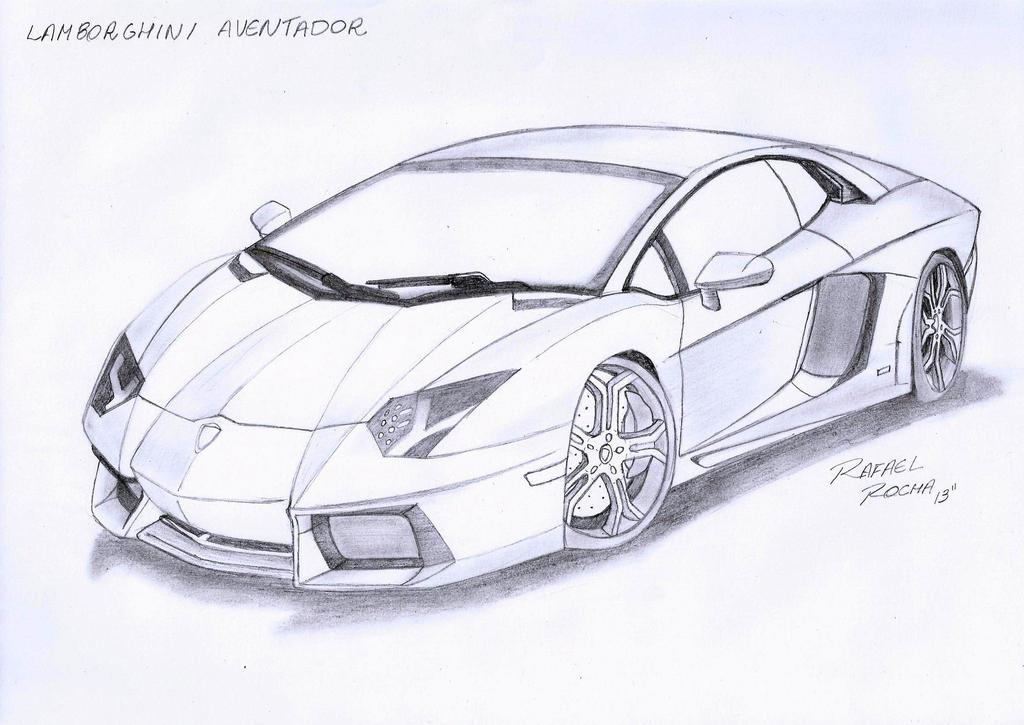 Lamborghini Aventador by Rafael-Rocha7 on DeviantArt
