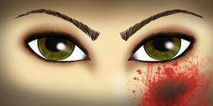 A vampires gaze
