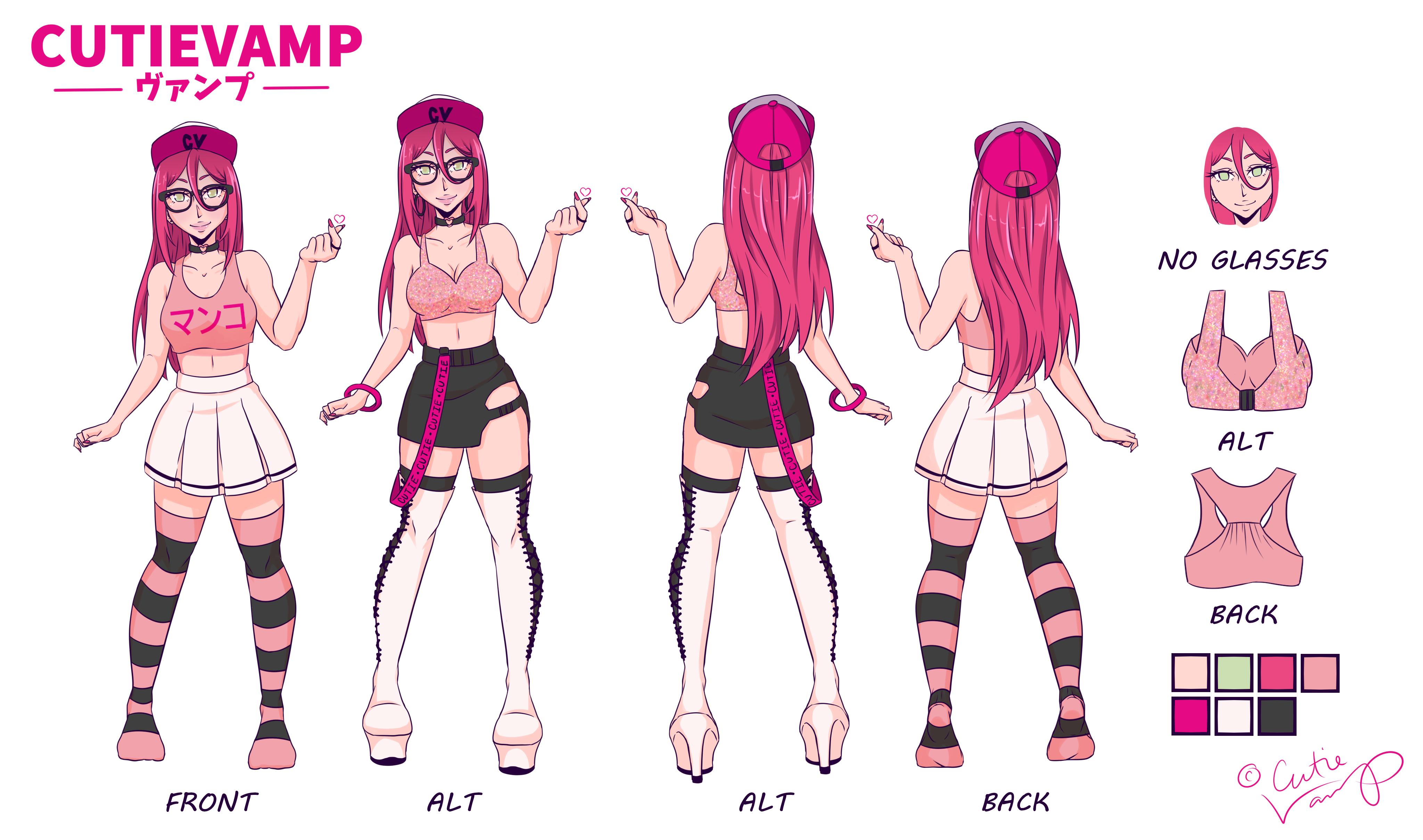 CutieVamp Reference Sheet