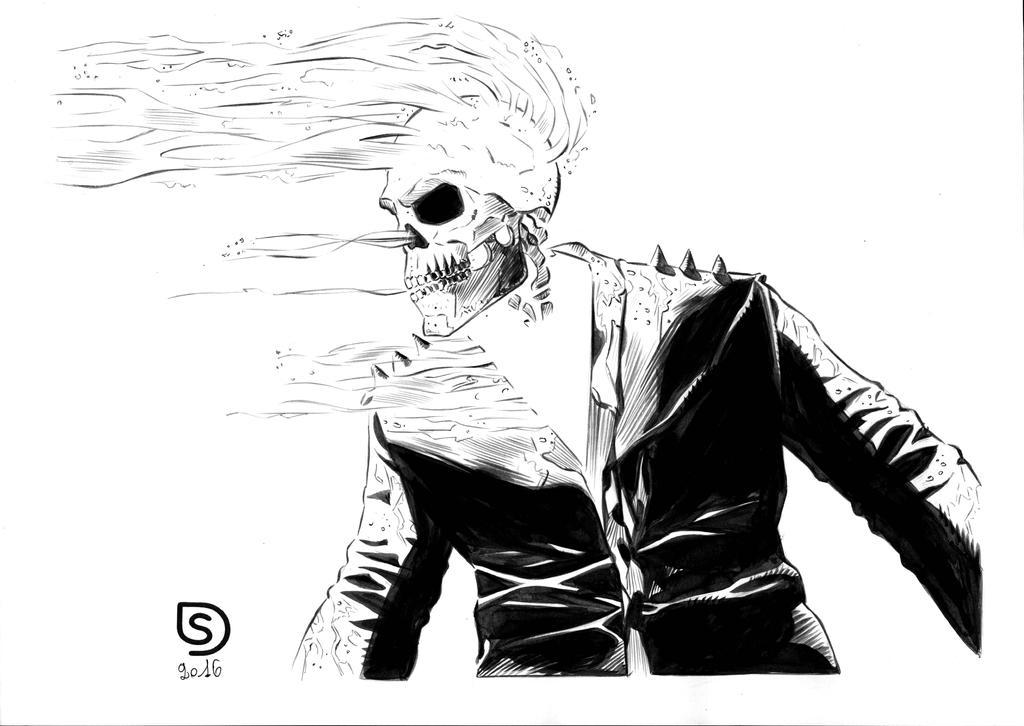 Ghost Rider by stefanodaddato