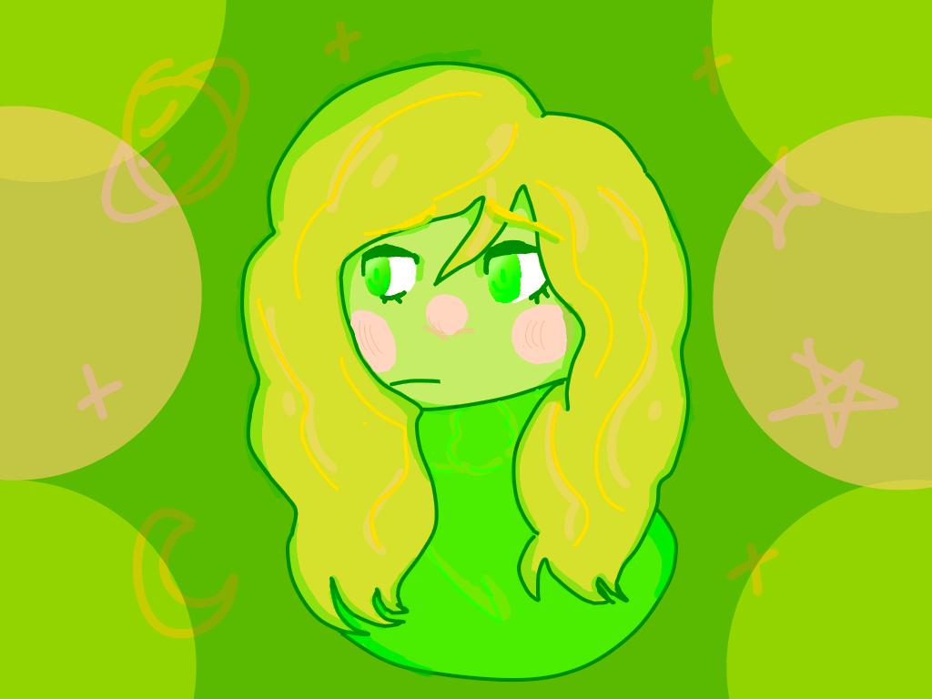 i like green by kkyriehana