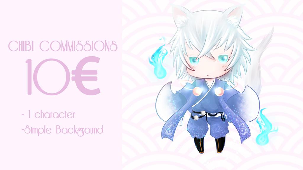 Chibi comissions by Y-llia
