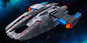 USS Hammer - Warp Configuration