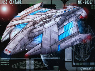 Scrapped Design - USS Centaur by DonMeiklejohn