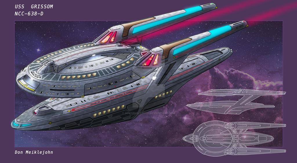 USS Grissom by DonMeiklejohn