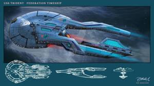 USS Trident Timeship