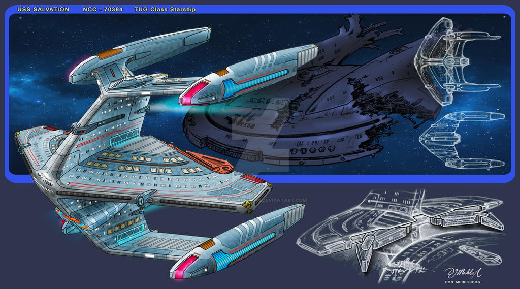 USS Salvation - Tug by DonMeiklejohn