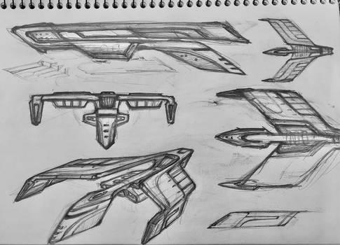 TNG Romulan Bird of Prey.