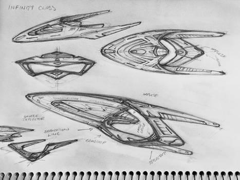 Infinity Class Starship