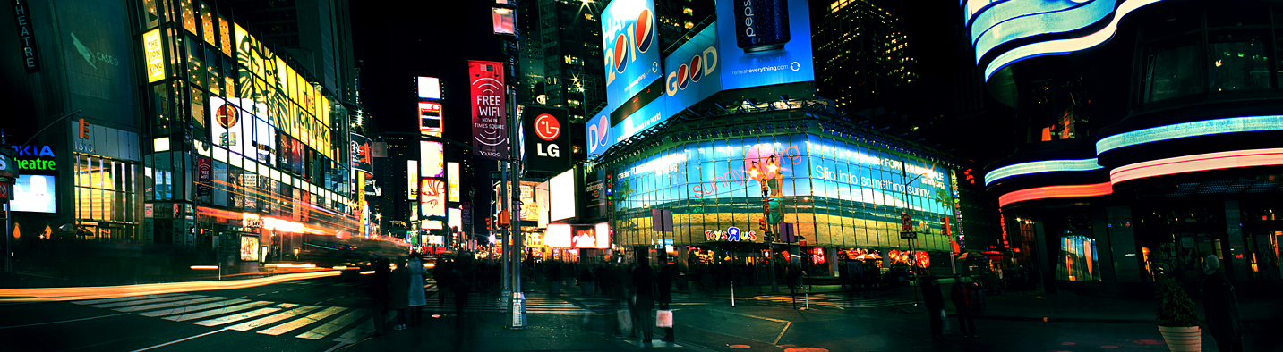 Case 9-Times Square by paradoxchild