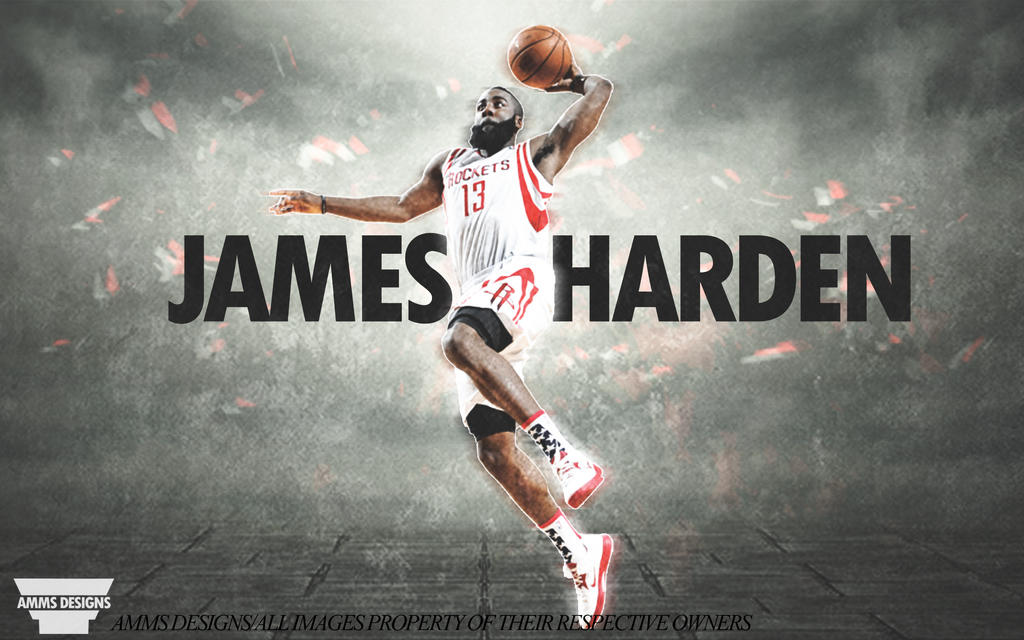 James harden dunk poster by ammsdesings on deviantart