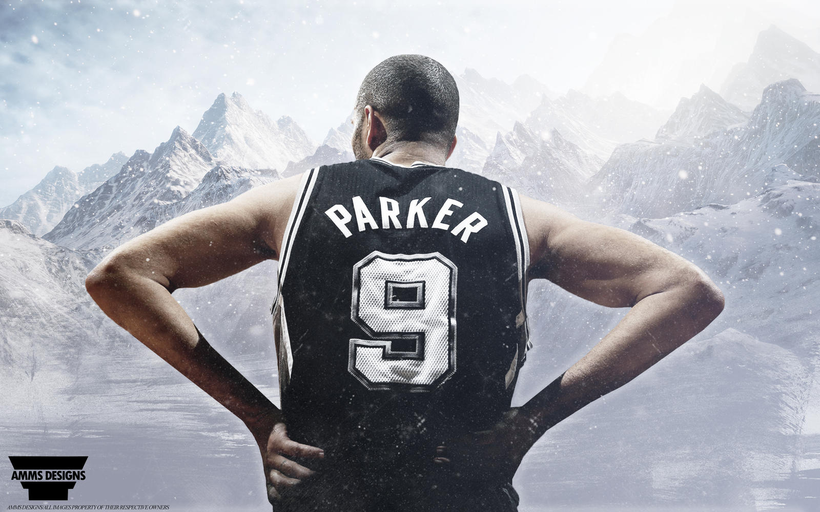 Tony Parker Wallpaper by AMMSDesings on DeviantArt