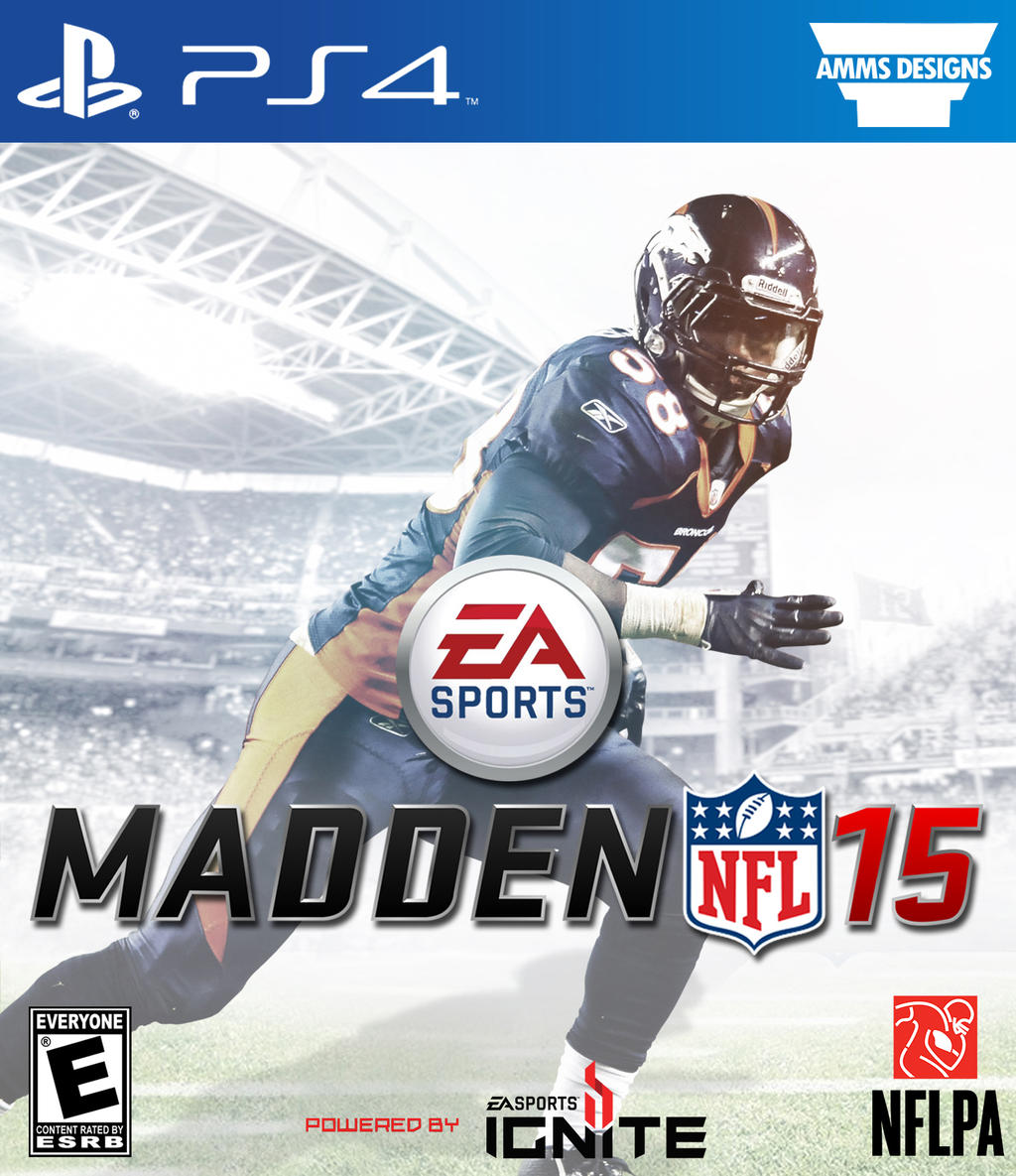 Von Miller Custom Madden 15 Cover PS4 Version By AMMSDesings