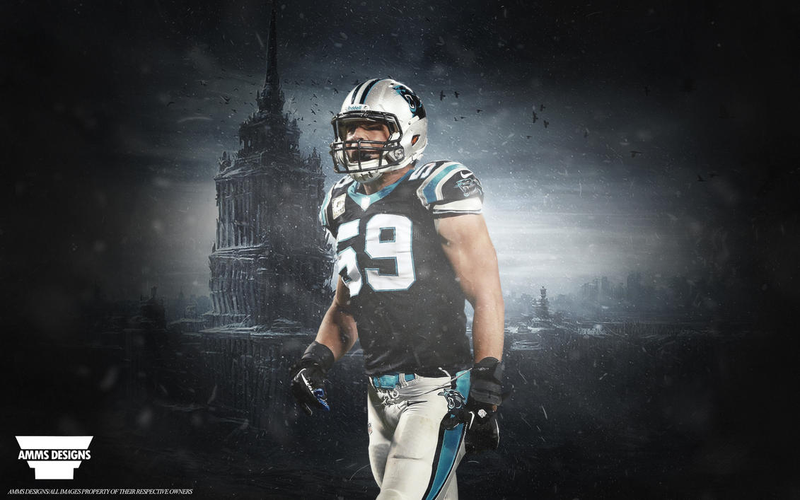 luke kuechly panthers wallpaper