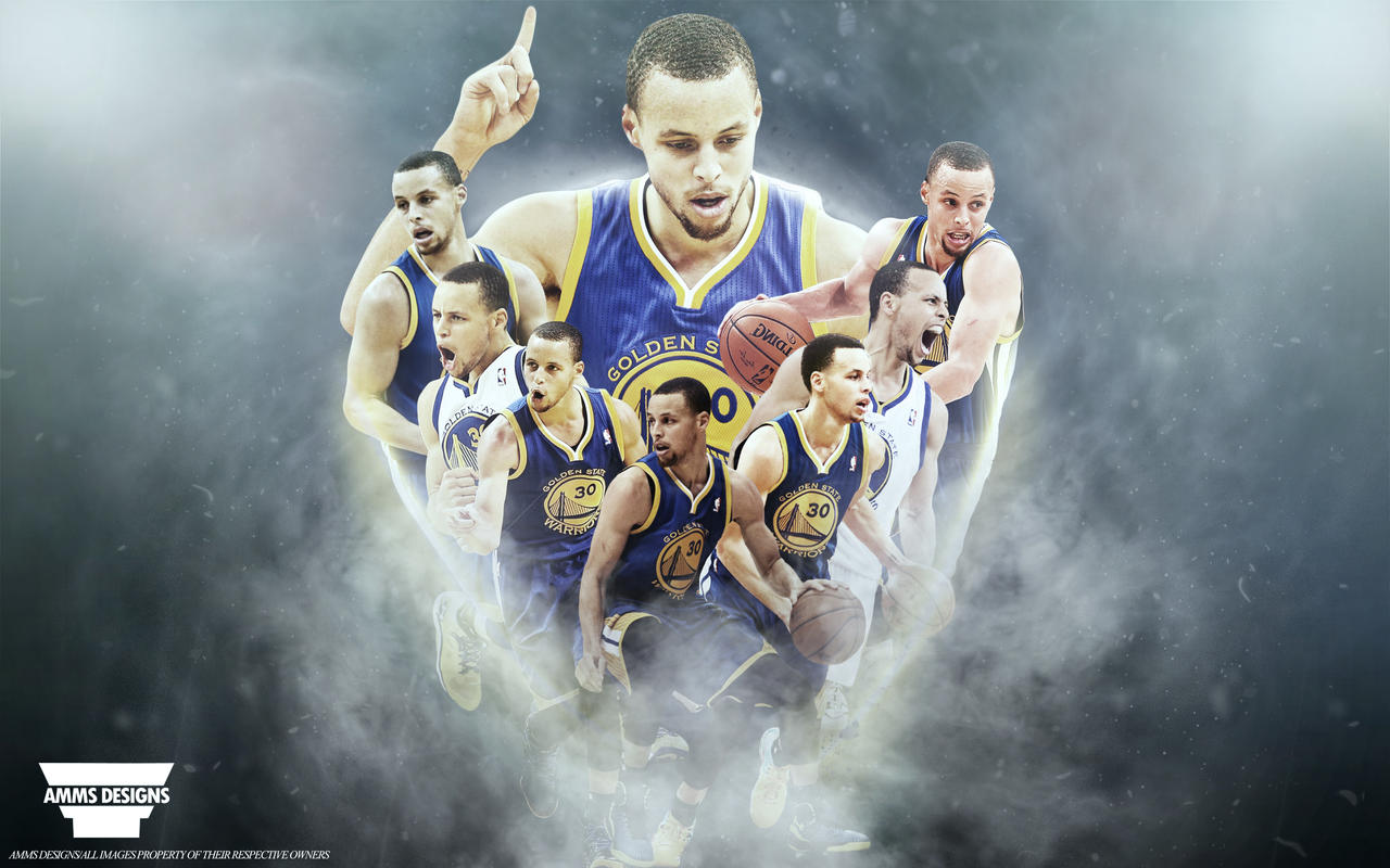 Stephen Curry 'Race For MVP' Wallpaper By AMMSDesings On