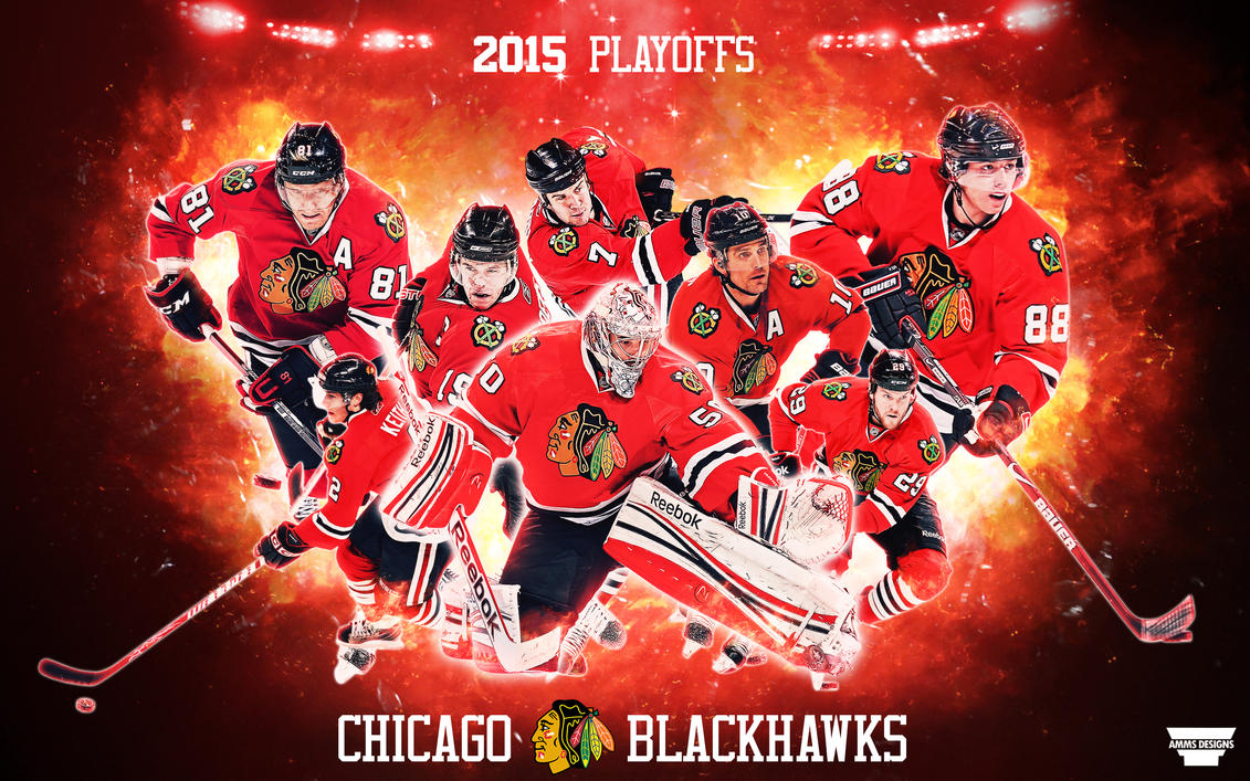 Blackhawks 2015 Playoffs Wallpaper By AMMSDesings