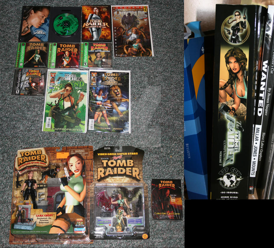 Tomb Raider Collection by Silvermoose