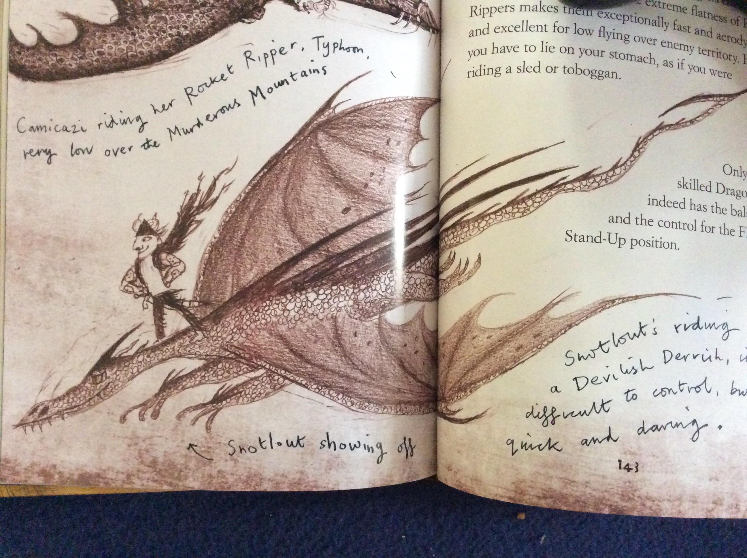 the new devilish dervish book vs game school of dragons how