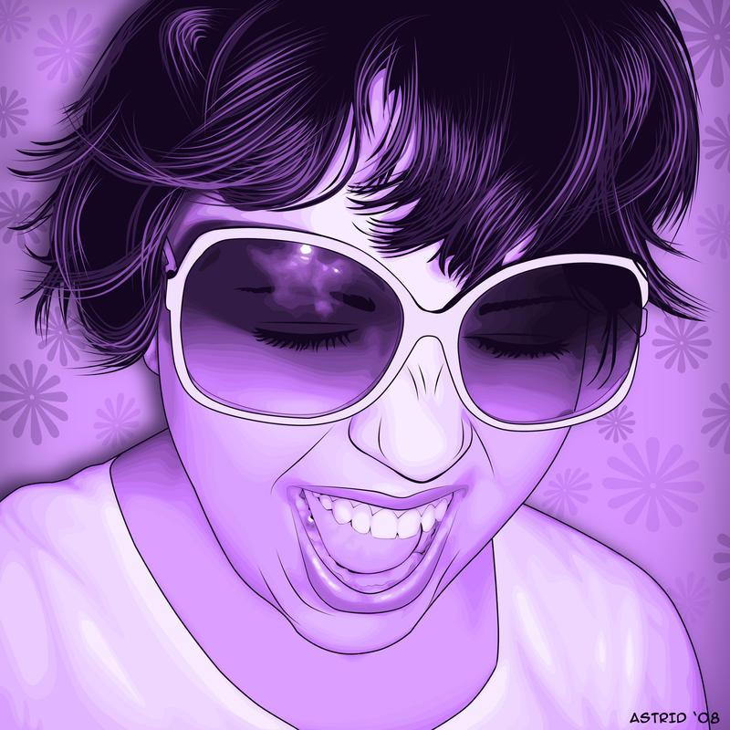Violet by AstridT