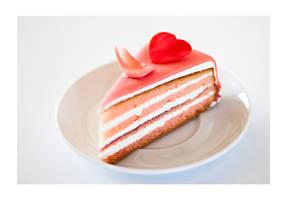 Valentine's cake by AstridT