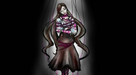 SHSL Violinist  Sophie Monetta`s execution by KarasuLoD