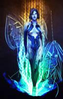 Cortana by HawkStudios