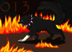 scourge in flames
