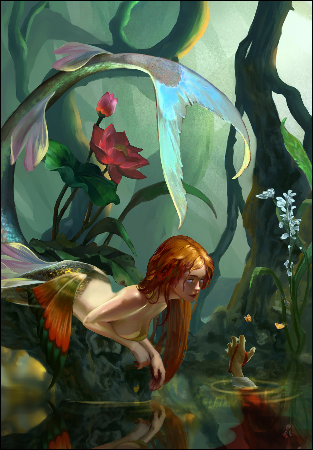 Mermaid by the-Golden-Elf