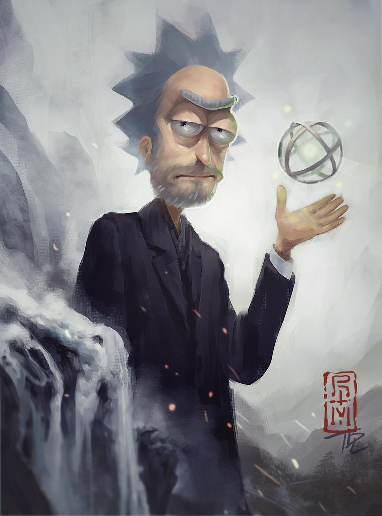 Rick's Dyson Sphere by Acidrain4