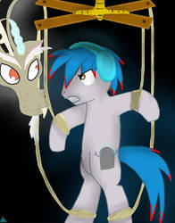 TheLivingTombstone and Discord by neko-nya-x3