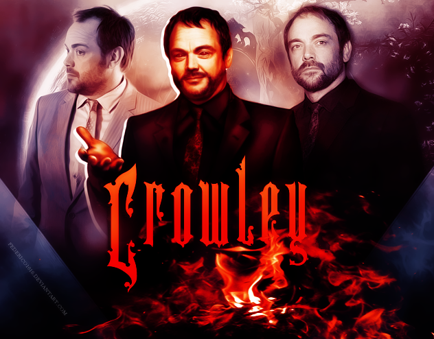Crowley Supernatural wallpaper 2 by federico1016 by federico1016