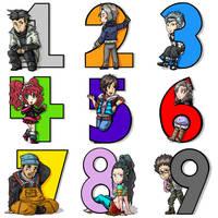 Counting to Nine by Kiwi-Kamikaze