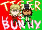 Tiger and Bunny by Kiwi-Kamikaze