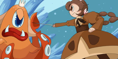 Almond vs Splashmaster by Kiwi-Kamikaze