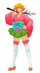 2013 Sakuracon Mascot Entry by Kiwi-Kamikaze