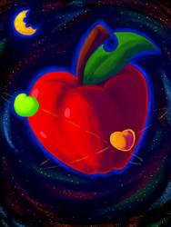 Apple Orbit by Kiwi-Kamikaze