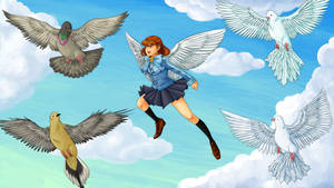 The girl who flew through time