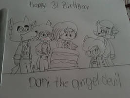 happy birthday dani the angel devil