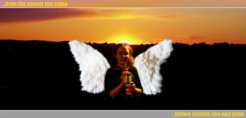 I saw an bad Angel... by herrasus