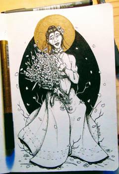 The Gladioli Lady