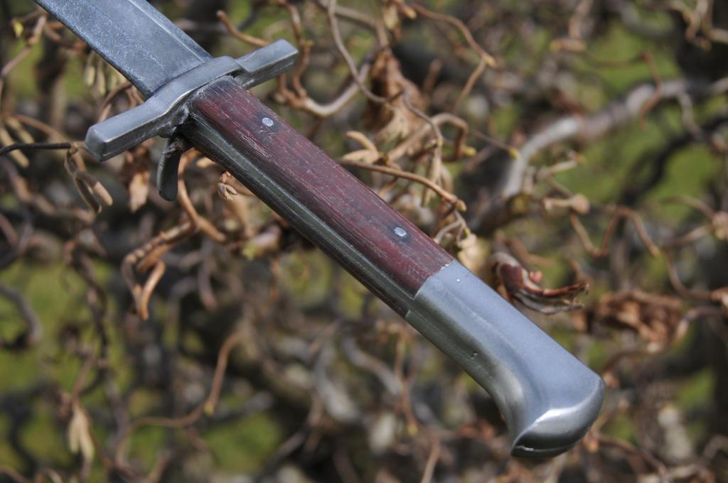 Bauernwehr / Langes Messer / Long Or German Knife By