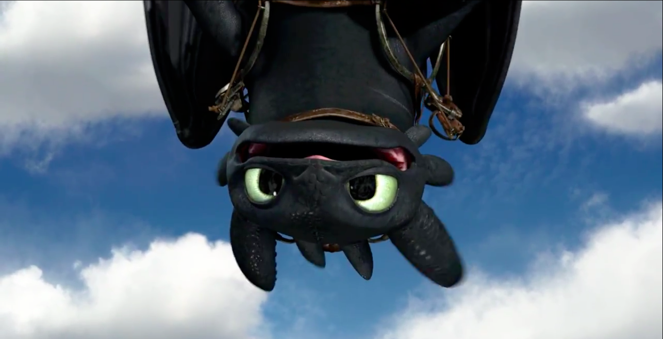 httyd toothless upside down wallpaper - photo #11