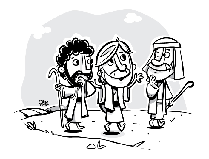 Road To Emmaus By Pocza
