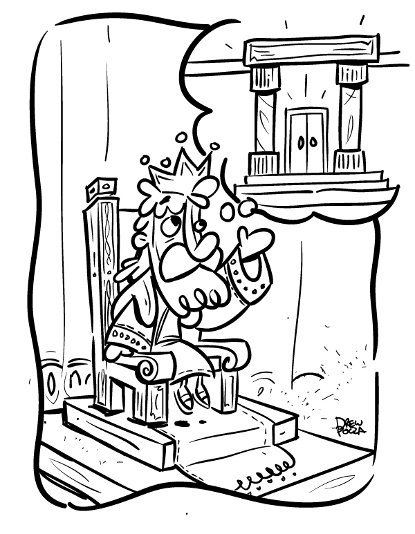 king solomon coloring pages - photo#21