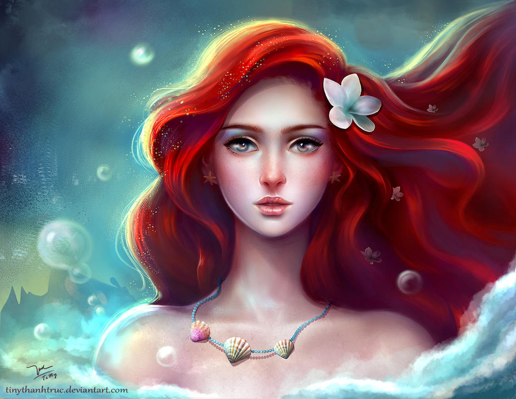 Disney Princess By TiNyThanhTruc On DeviantArt