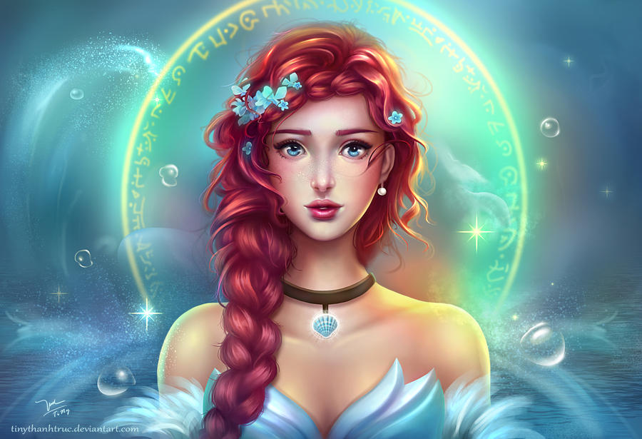Ariel Princess by TinyTruc