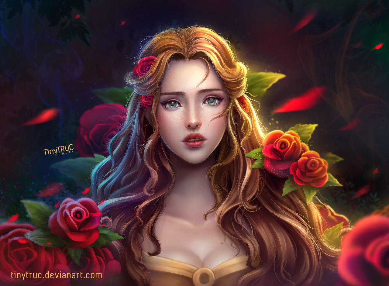 Disney Princess Belle Beauty And The Beast By Tinytruc On Deviantart