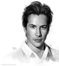 Keanu Reeves [study] by TinyTruc